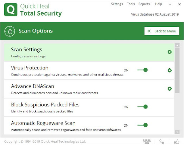Quick Heal Total Security 2019 Full Version