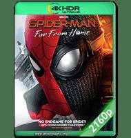 SPIDER-MAN: LEJOS DE CASA (2019) WEB-DL 2160P HDR MKV ESPAÑOL LATINO