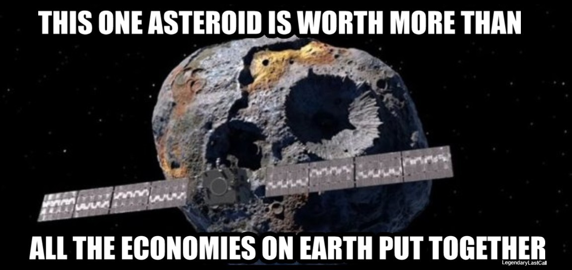 16 Psyche, asteroid, most expensive asteroid