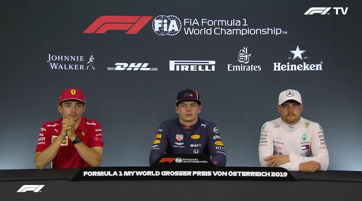 F1 2019 Austrian Gp Post Race Press Conference