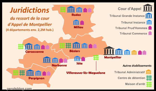 Tribunal à Montpellier