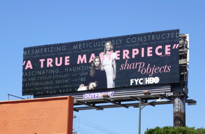 Sharp Objects Emmy consideration billboard