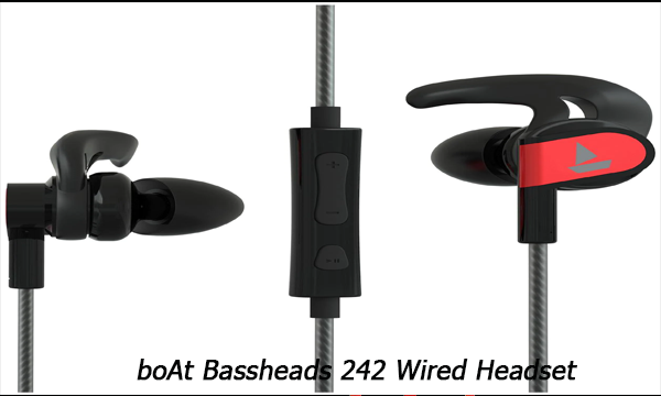 boAt Bassheads 242 Wired Headset