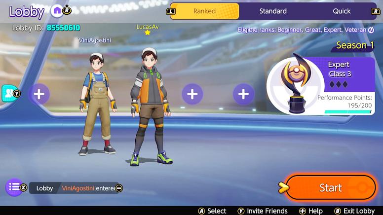 Como Criar uma Partida Personalizada em Pokémon Unite