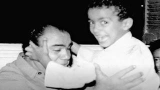 صورة نادرة لـ محمد رضا والطفل أحمد السقا من منزل صلاح السقا