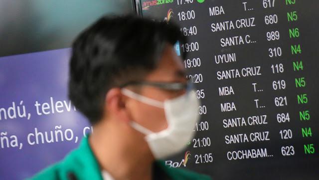 Bolivia cierra fronteras a los no residentes y suspende todos los vuelos internacionales ante el coronavirus