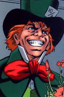 O Chapeleiro Louco também é um personagem vilão do Batman