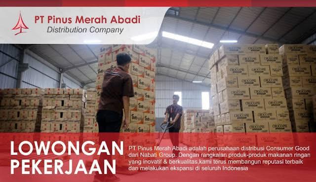Lowongan Kerja PT Pinus Merah Abadi (Nabati Group) Penempatan Seluruh Indonesia | Posisi: Accounting Supervisor, Accounting Staff, Area Operation Supervisor