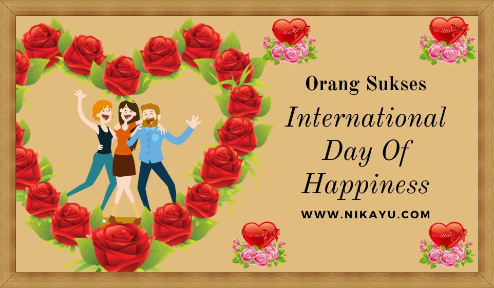 Twibbon-Poster Kata Ucapan Selamat Hari Kebahagiaan Internasional