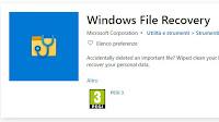 Recupero file con Windows File Recovery, gratis, semplice, di Microsoft