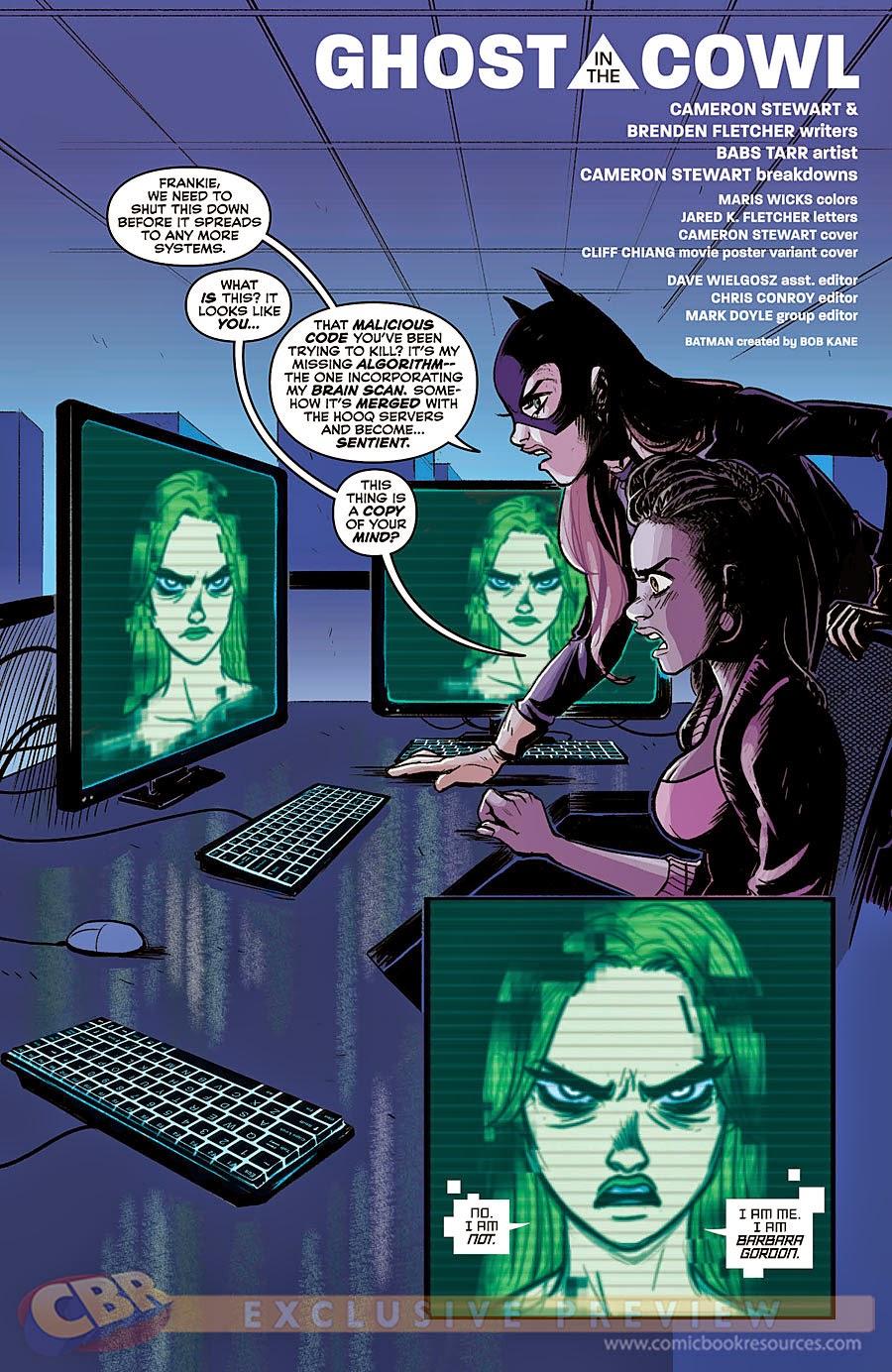 Weird Science DC Comics: Batgirl #40 Preview