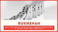 Menjalankan Sunnah Dengan Mengambil Rukhshah