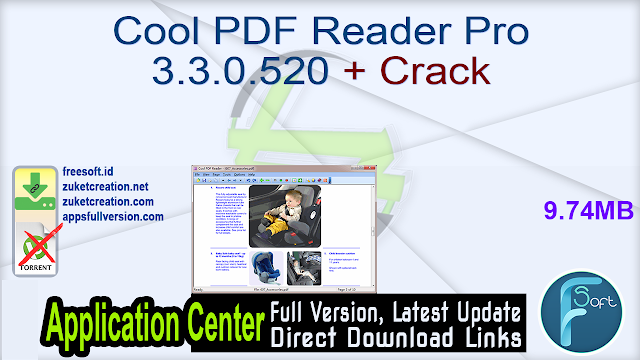 Cool PDF Reader Pro 3.3.0.520 + Crack