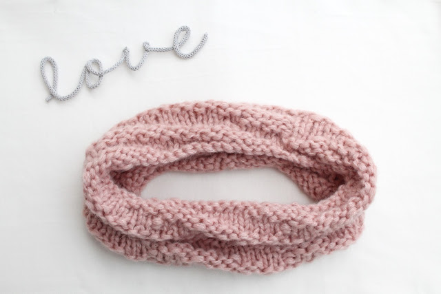 diy cowl wool knitting cuello lana