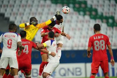 ملخص واهداف مباراة الشارقة والدحيل (4-2) دوري ابطال اسيا