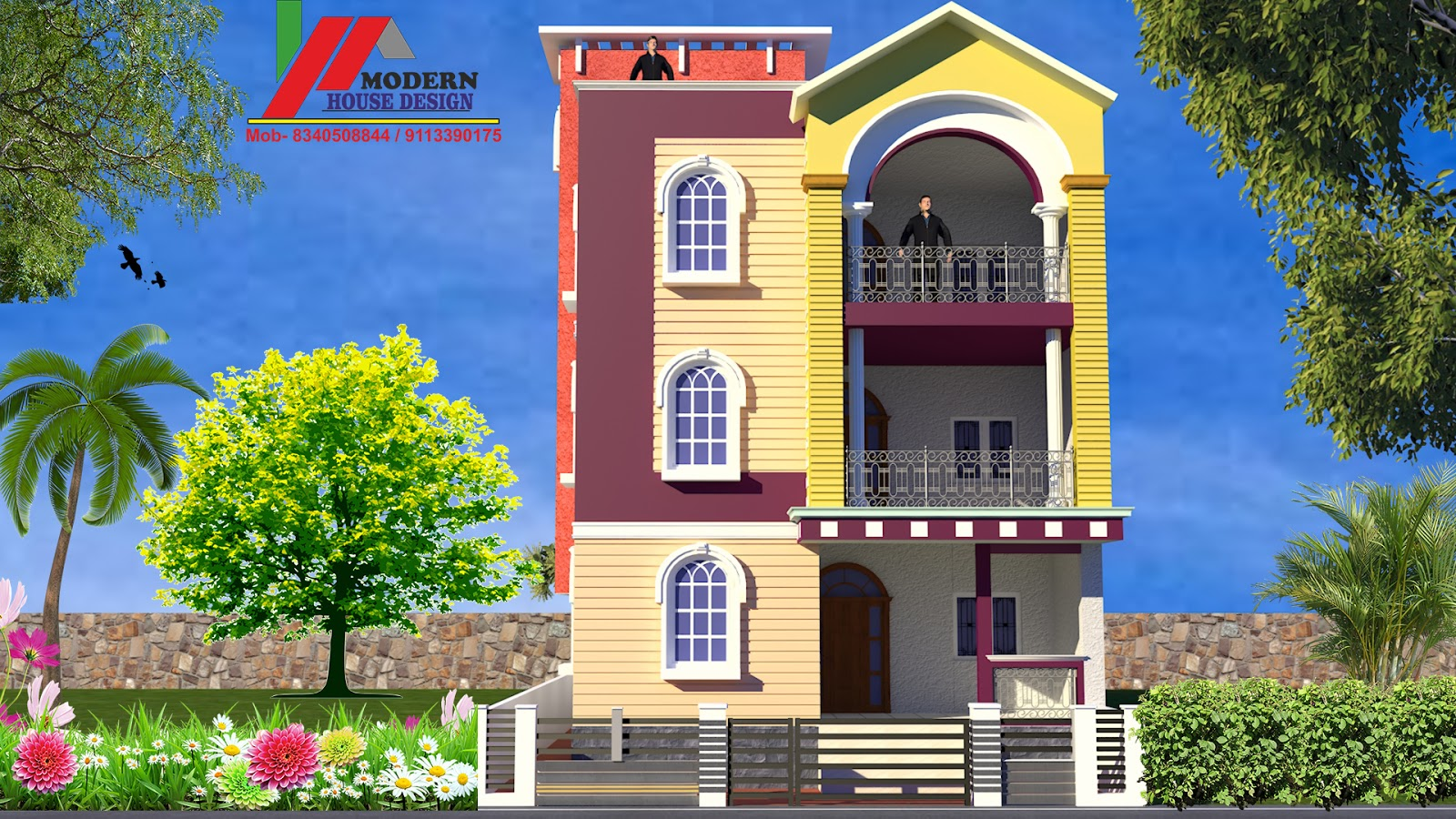 Naksha Design Front Elevation Modern House Design