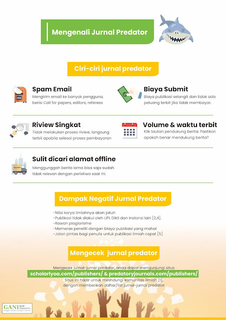 Infografis Mengenali Jurnal Predator