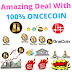 Onecoin Amazing Deal With 100%