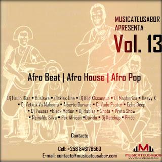 Compilação MusicaTeuSabor Vol. 13 (Afro Beat - Afro House & Afro Pop)
