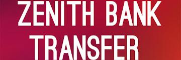 Zenith Bank USSD Transfer Code: Zenith Mobile Banking