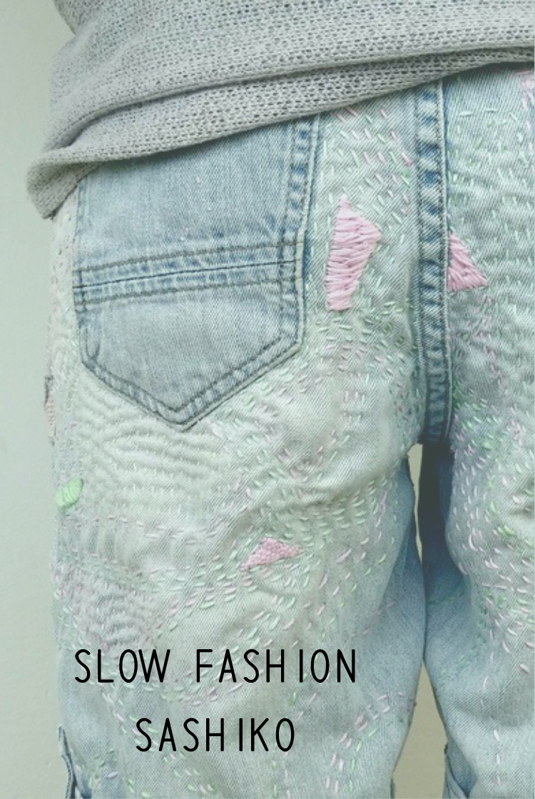 Slow Fashion - Sashiko