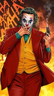 Joker Smoker Gentlemen Mobile HD Wallpaper