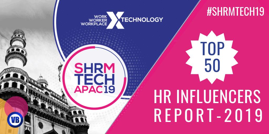 SHRM - Top 50 Indian HR Influencers on Social Media