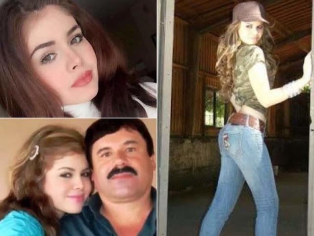 """Ella es """"La Gringuita""""... la novia de 15 años de """"El Chapo"""" Guzmán y con quien engañó a Emma Coronel"""