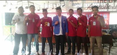Oky Iqbal Frima Secara Resmi Buka Muscam KNPI Tanjung Tiram
