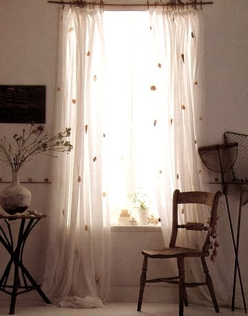sheer shell curtains