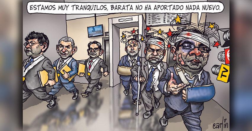 Carlincaturas Viernes 02 Marzo 2018 - La República