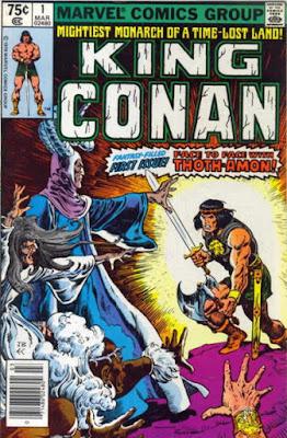 King Conan #1, Marvel Comics, Thoth-Amon