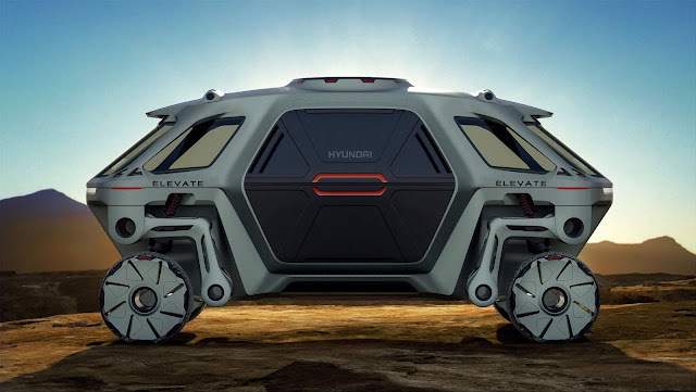 Hyundai inicia desenvolvimento de Ultimate Mobility Vehicles