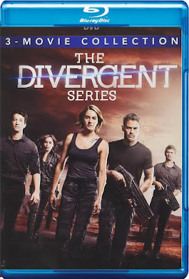 COMBO The Divergent Colección DVD HD Dual Latino 5.1 + Sub