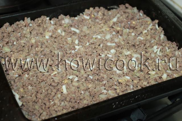 рецепт вкусной картофельной запеканки с пошаговыми фото