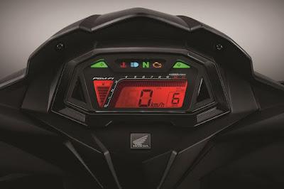 Speedometer baru New Honda Supra GTR150, mirip Sonic