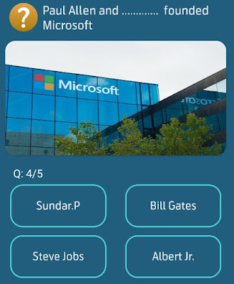 Paul Allen and founded Microsoft?