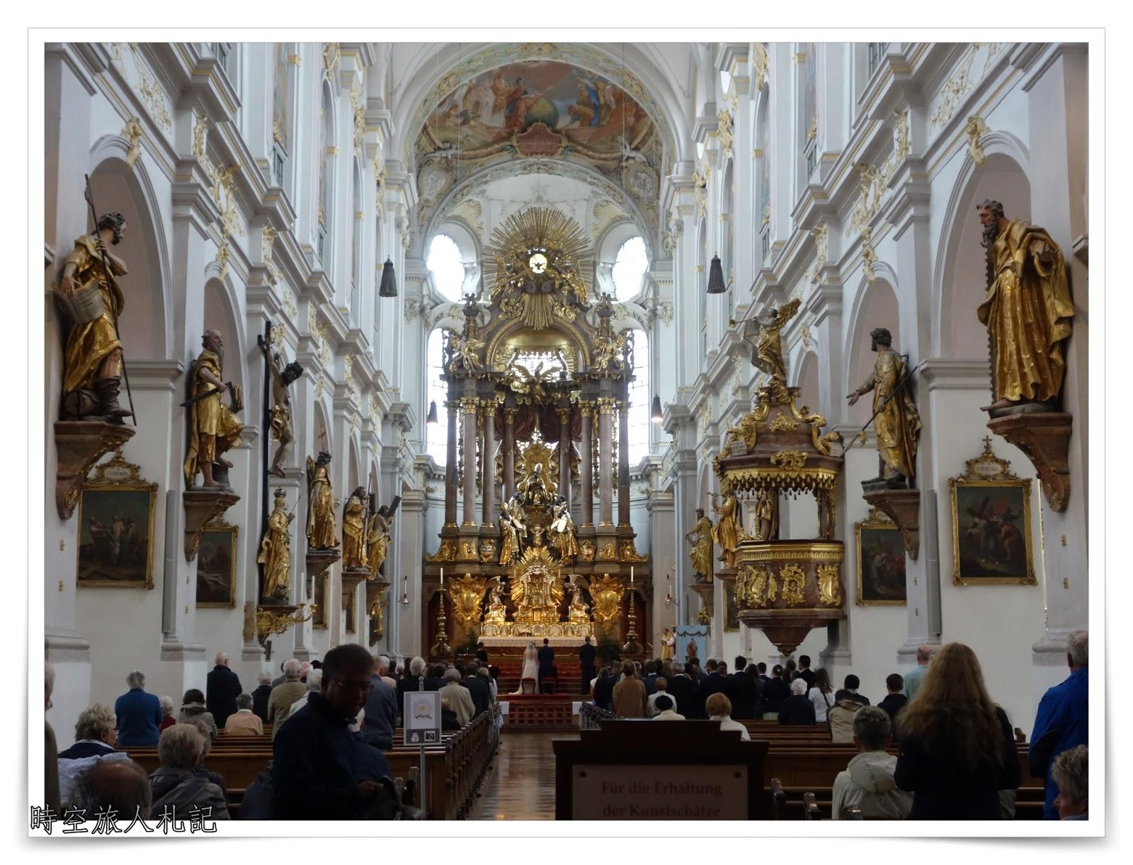 慕尼黑景點 (Part 3):  Peterskirche聖彼得教堂、Viktualienmarkt穀物市場