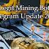 Legit Mining Bot Telegram Update 2020