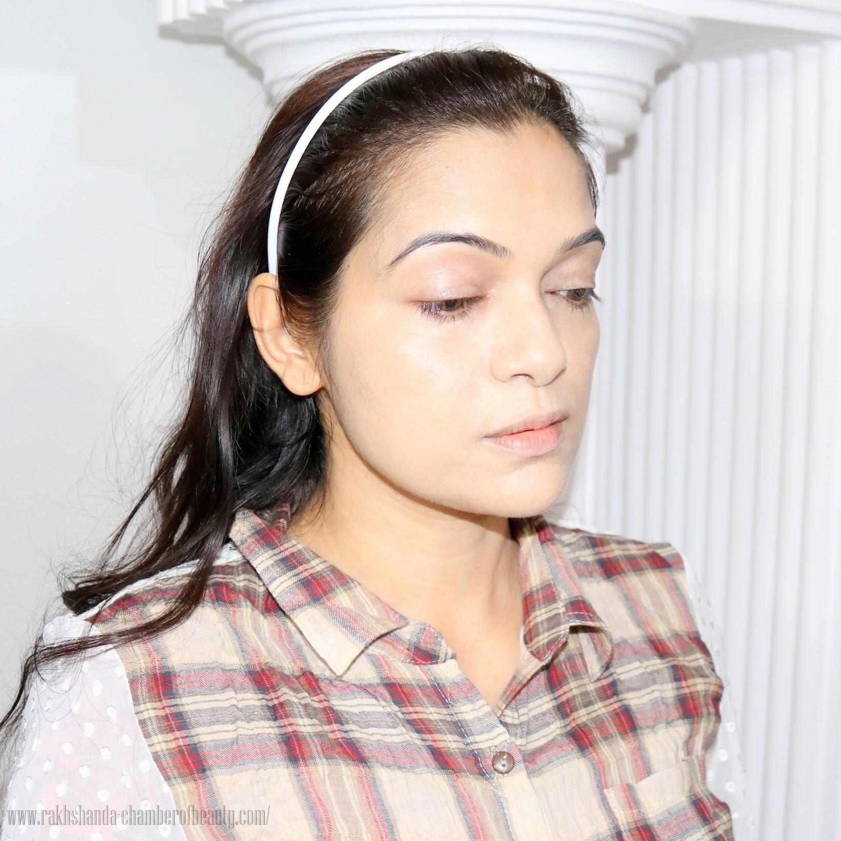 Illamasqua Radiance Veil, How to get radiant skin, FOTD, how to get lit-up glow with Illamasqua Radiance Veil, Illuminator, makeup look, tutorial, Illamasqua, Picture tutorial, how to illuminate, Indian beauty blogger, how to use Illamasqua Radiance Veil, how to get glow, makeup tips, radiant skin with radiance veil, Indian makeup blog, chamber of beauty, makeup