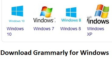 Download grammarly for  Windows
