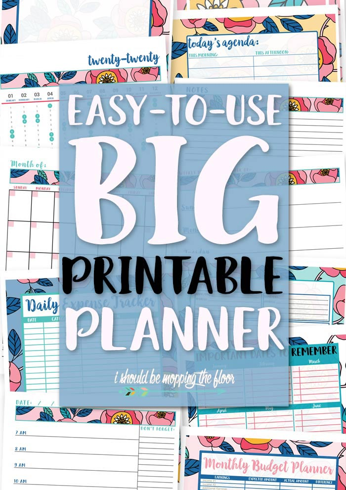 Easy-to-Use Printable Planner