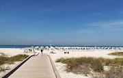 Saadiyat Public Beach Abu Dhabi, UAE