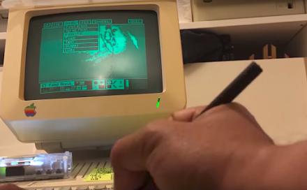 Der Star Wars Trailer zu 'The Last Jedi' auf einem Apple IIc | Einmal ins Jahr 1984 bitte