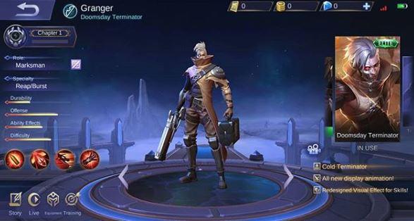 Skin Elite Granger - Doomsday Terminator