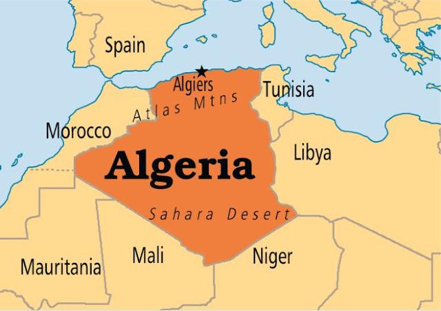 Negara Tetangga di Perbatasan Negara Aljazair