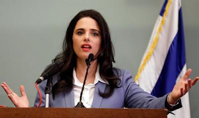 Shaked: Não permitiremos um estado palestino