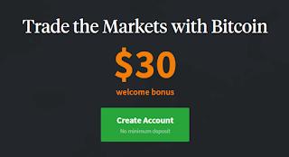 Bonus Crypto Tanpa Deposit WCX $30 Bitcoin
