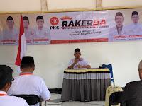 Ketua DPD PKS Lampung Timur Beri 4 Arahan Pada Rakerda