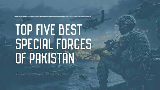 Top 5 Elite Special Forces of Pakistan